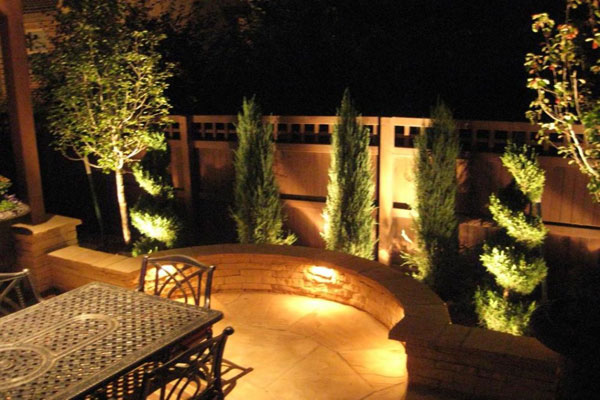 Radiance group get ready to spend more time outdoors for Garden lighting designs